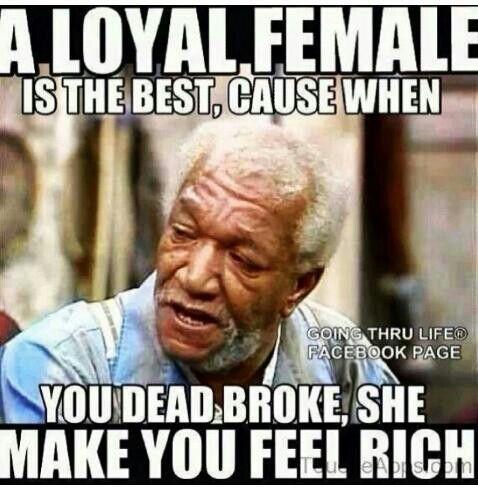 a meme about loyalty