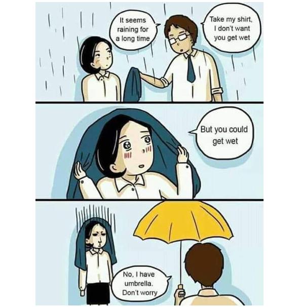 a meme about gentleman