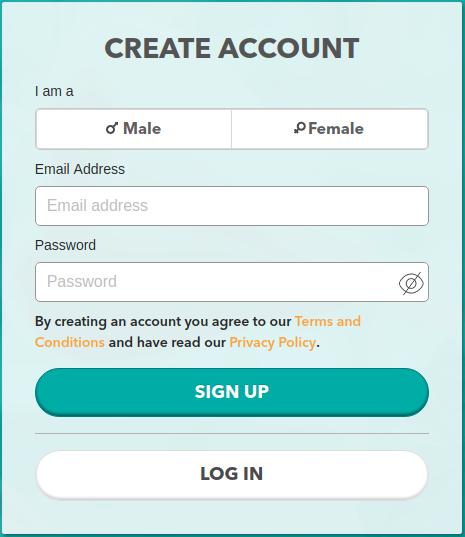 TrulyRussian Create Account Box