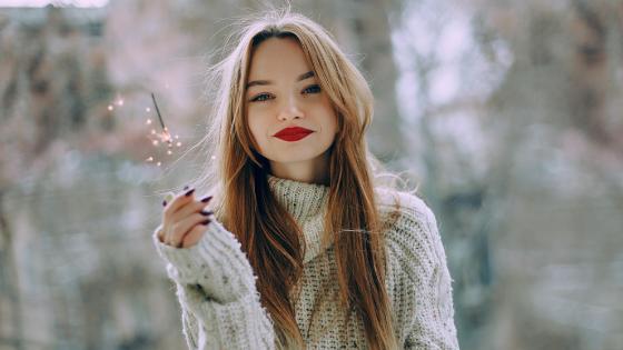 a ukrainian woman smiling