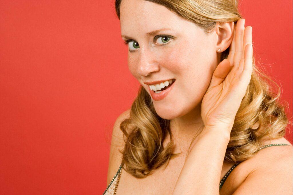woman soul listening to partner